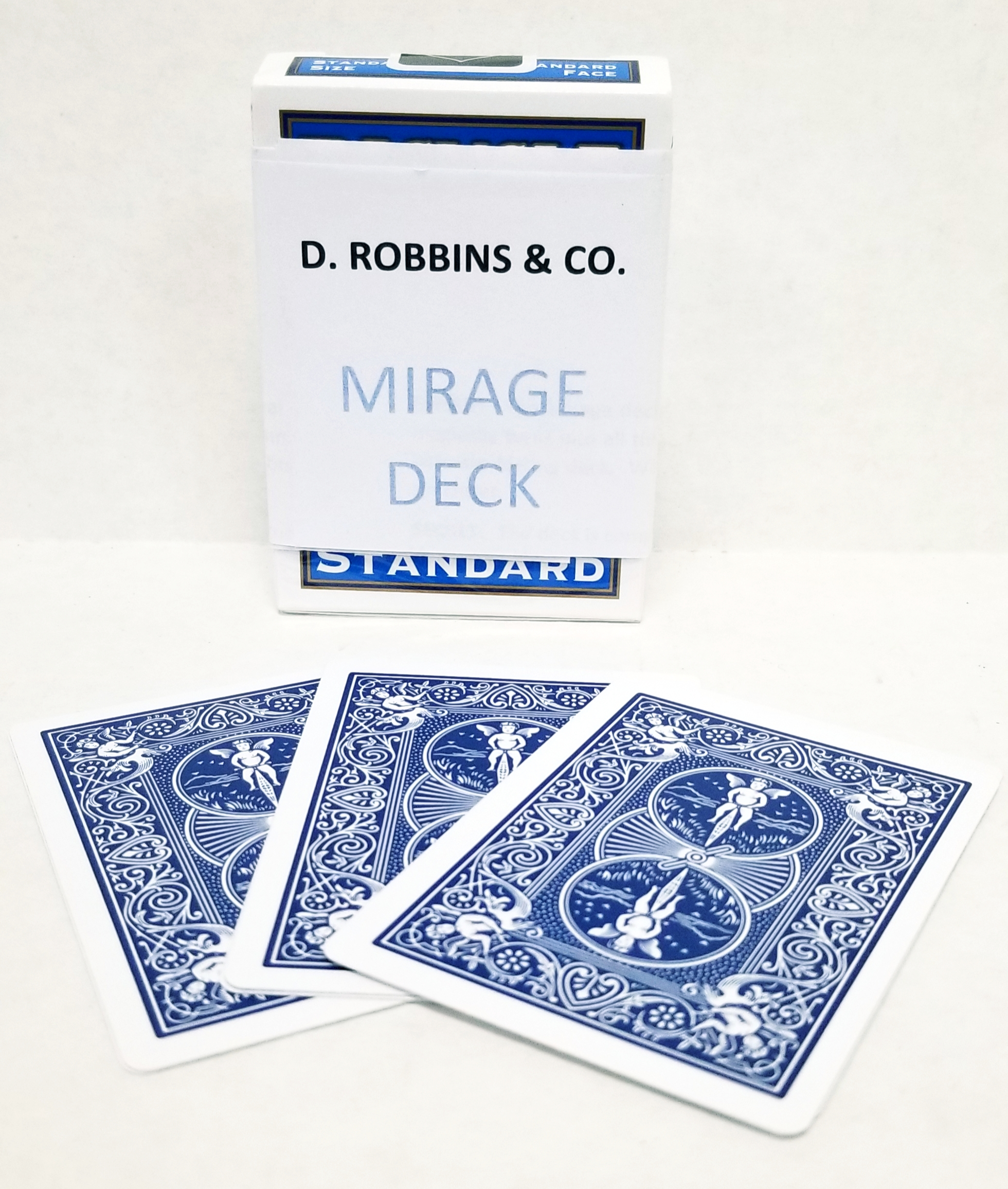 Mirage Bicycle Poker Deck (E-Z) - Improved - Blue backs