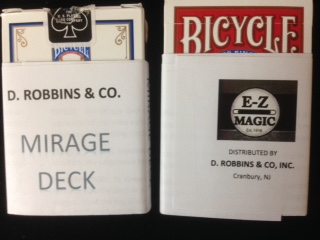 Mirage Bicycle Poker Deck (E-Z) - Improved
