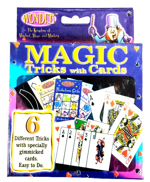 Wonder 6 Tricks with Cards Magic Kit
