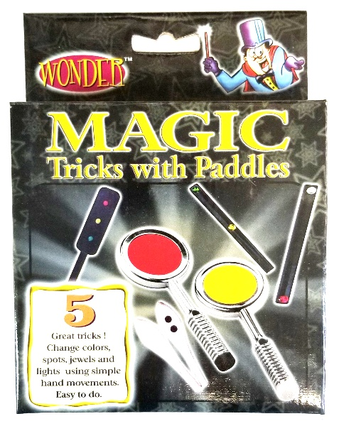 Wonder 5 Magic Tricks with Paddles Kit