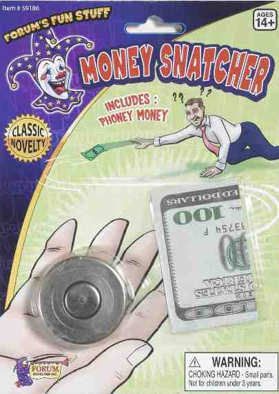 Money Snatcher - Jumbo with $100 Bill - Pack of 12