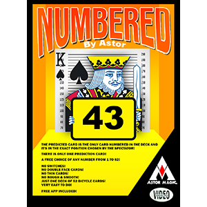 Numbered (Astor)
