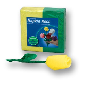Napkin Rose Refill -  Yellow and Green