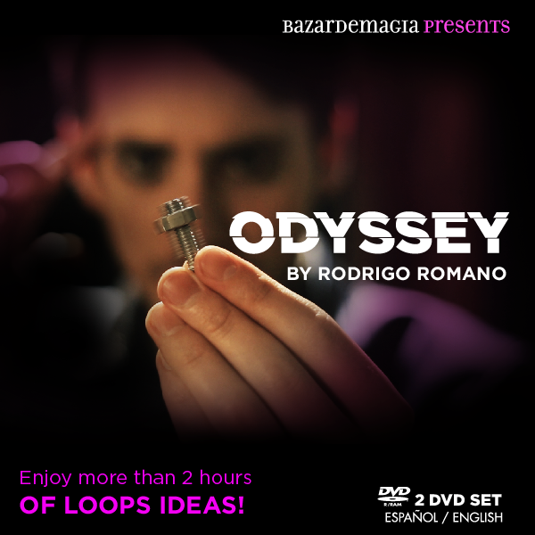 Odyssey by Rodrigo Romano - Loops Ideas - 2 DVD Set (Bazar de Magia)