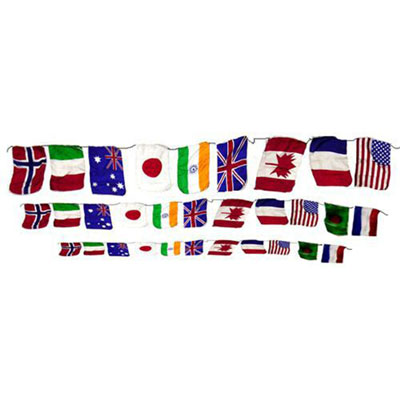Production String of Flags - Large (FT)