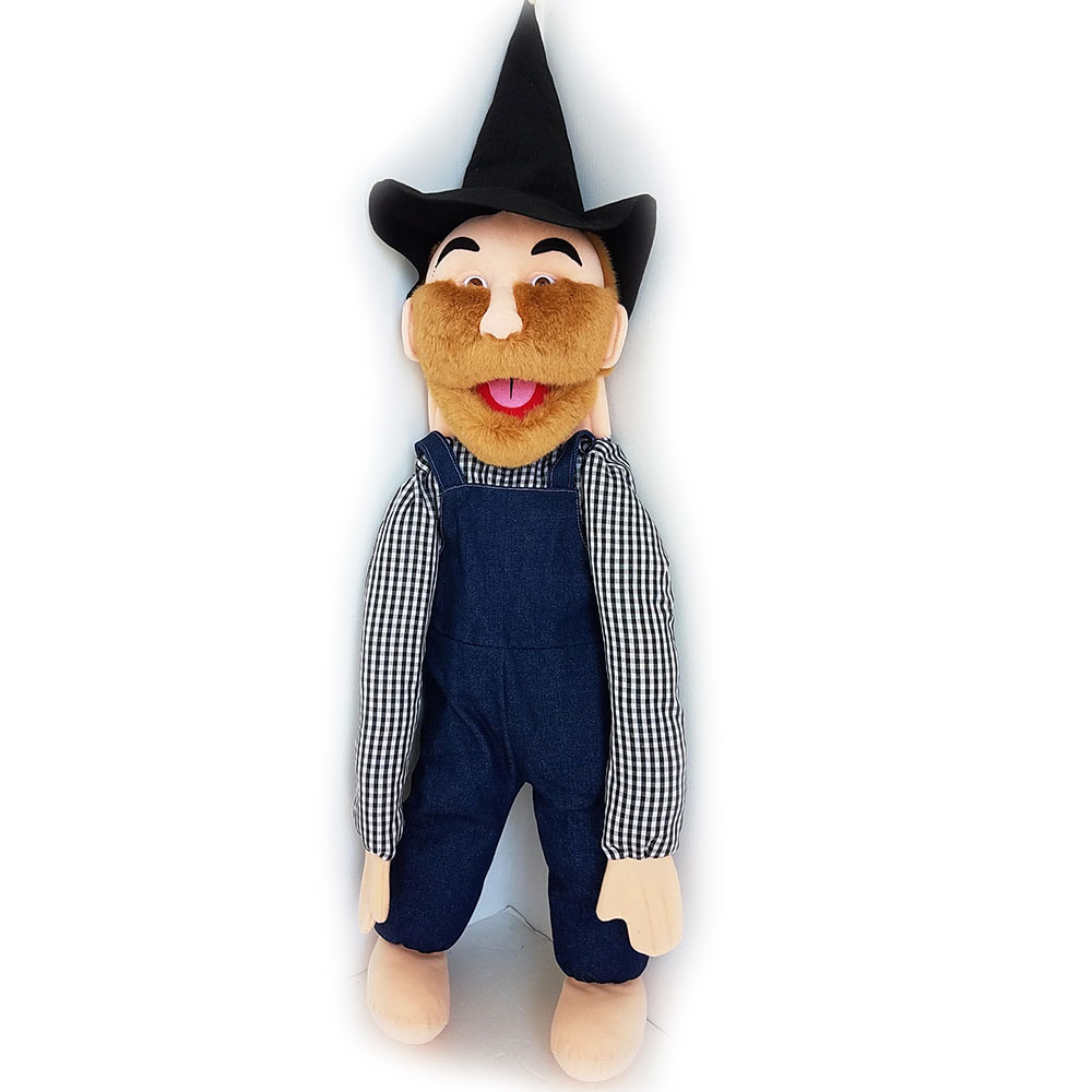 Puppet Hillbilly Country Man 28""