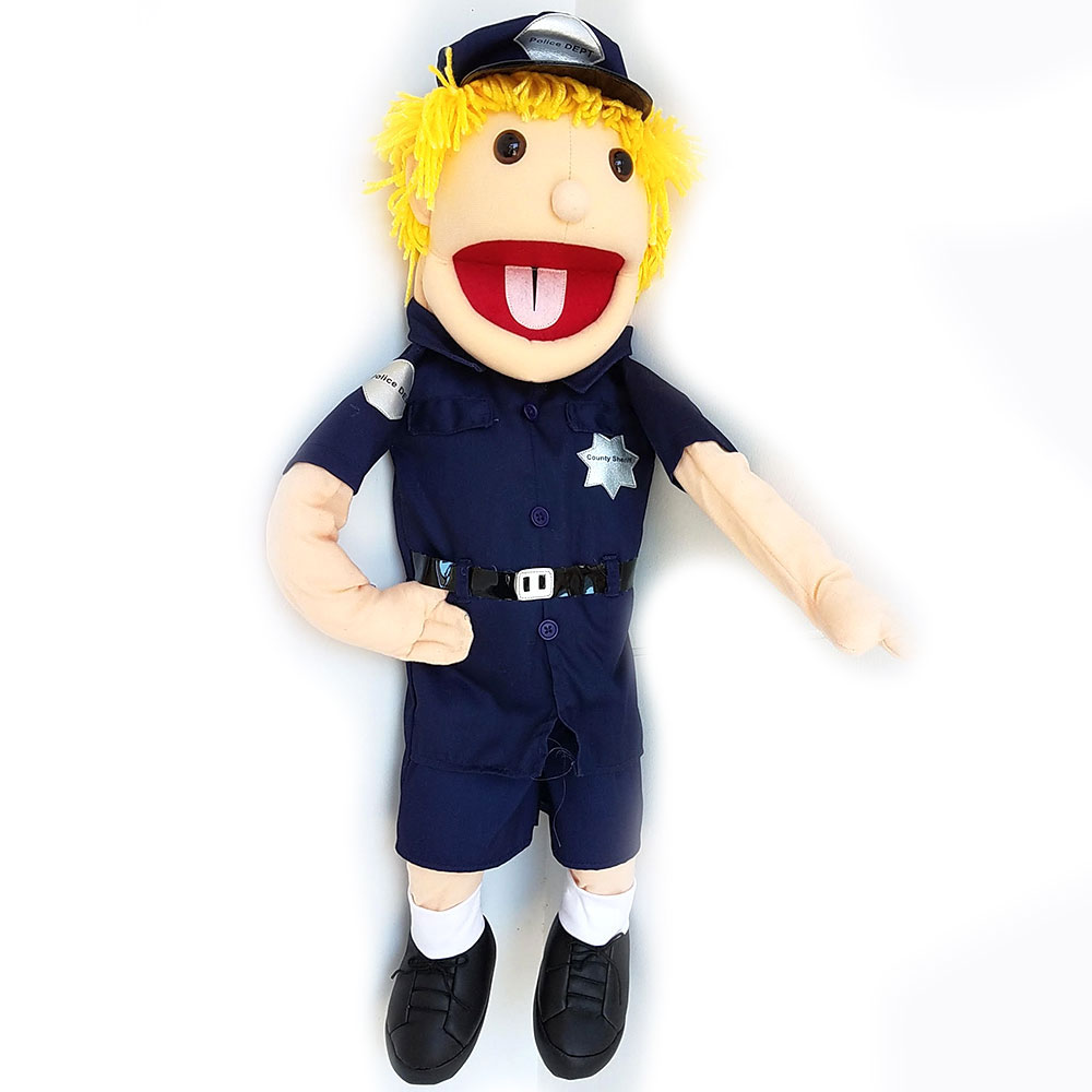 Puppet  Cop - Police Officer 28""