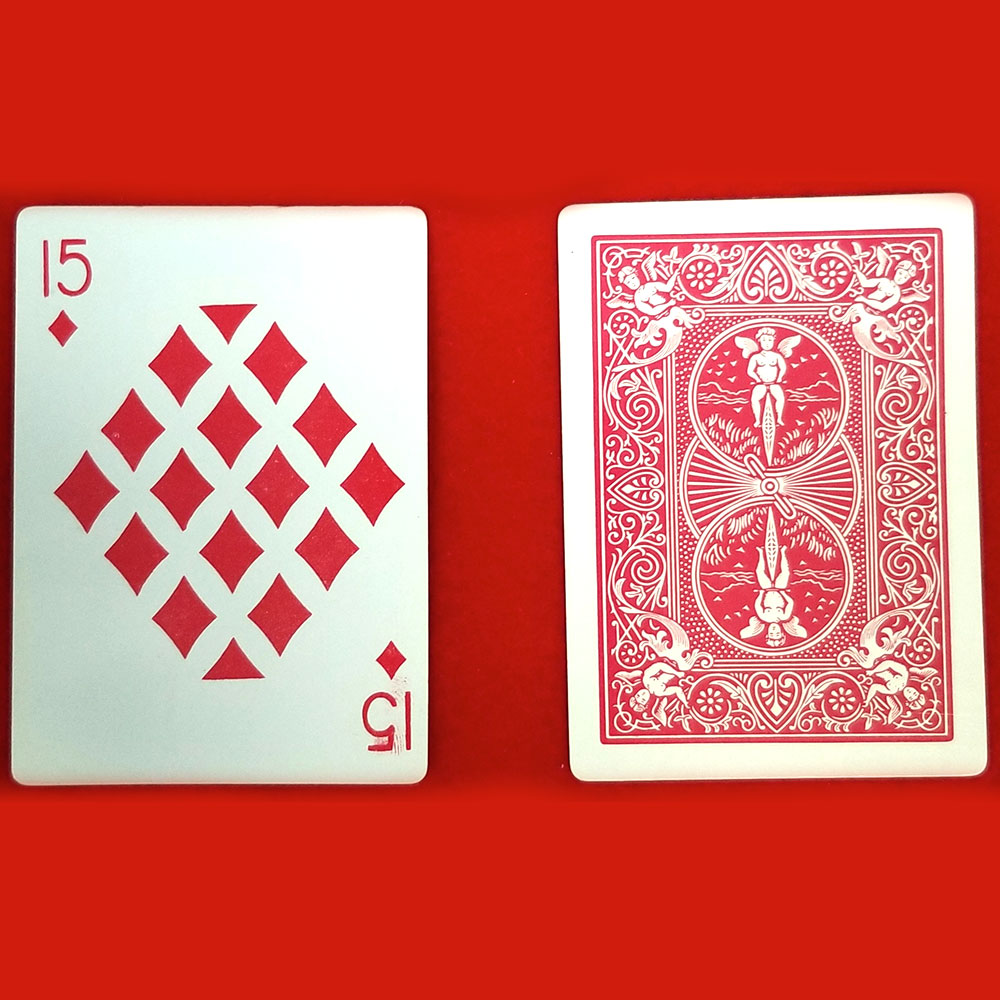 Playing Cards - Imprints 15 Diamonds - Pack of 12