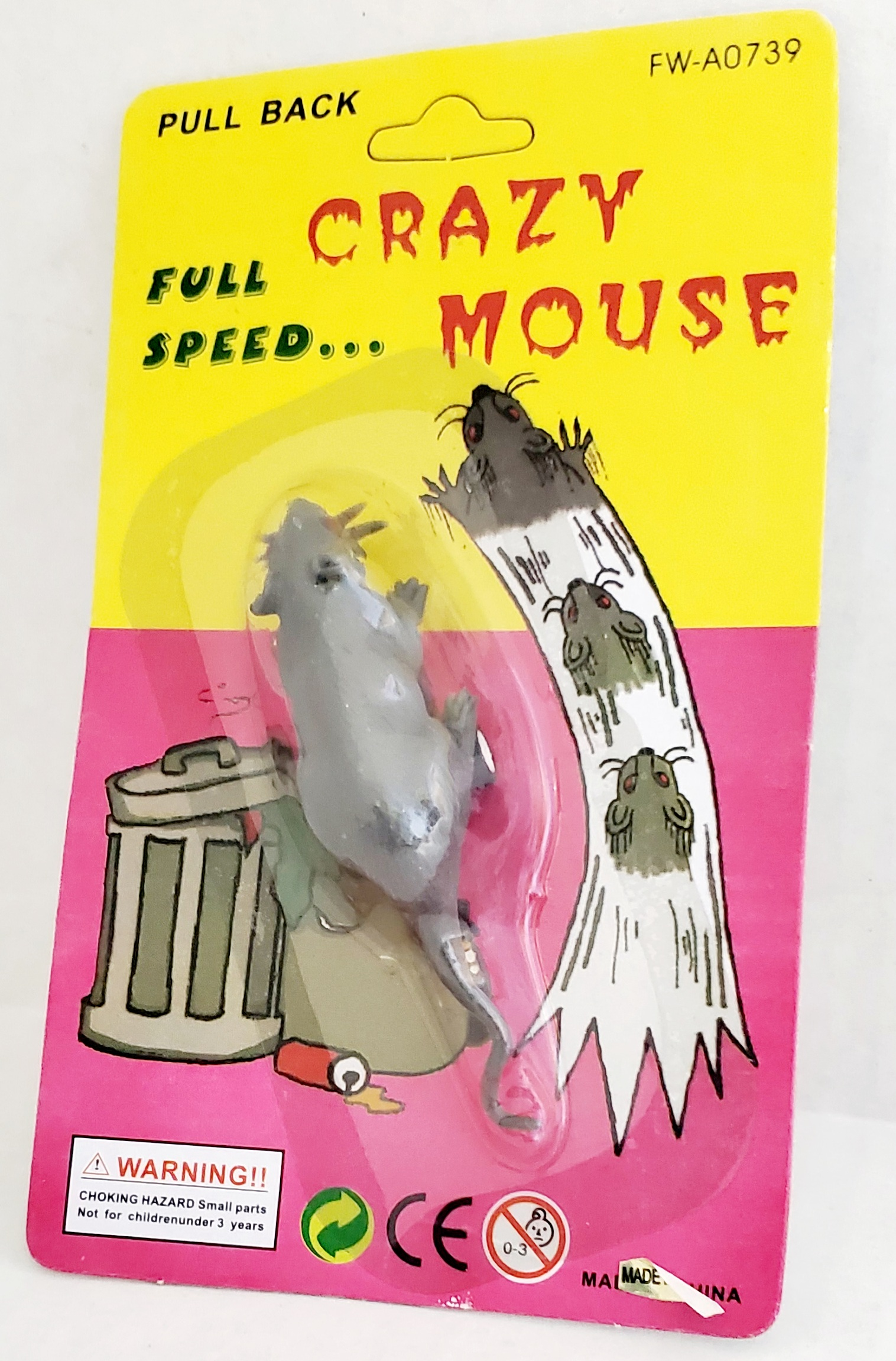 Pull Back Mouse