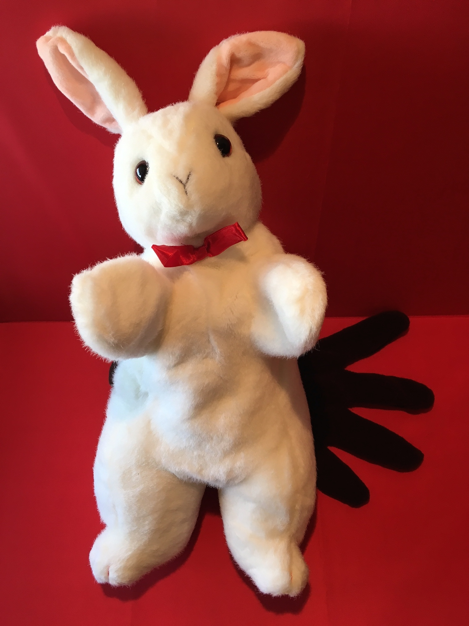 Puppet Two Handed Rabbit with Glove 16""