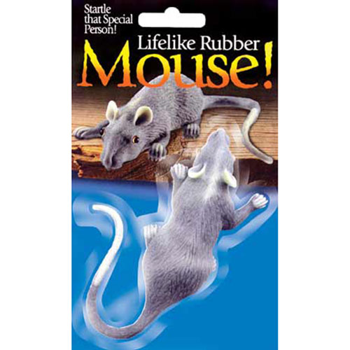 Rubber Lifelike Mouse