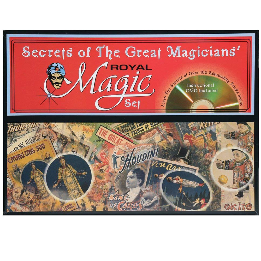 Royal Secrets of Great Magicians Set - FM 540 Magic Kit