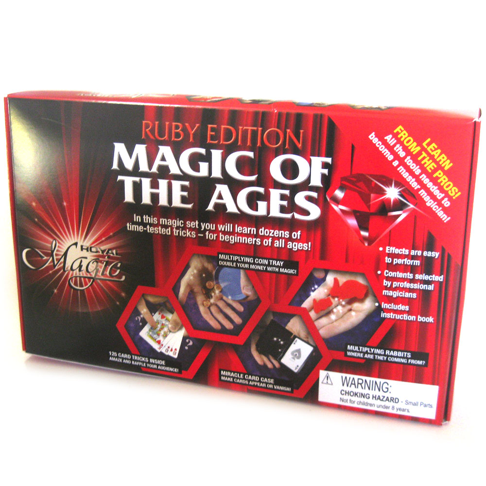 Royal Jewels of Magic - Ruby Edition Magic Kit