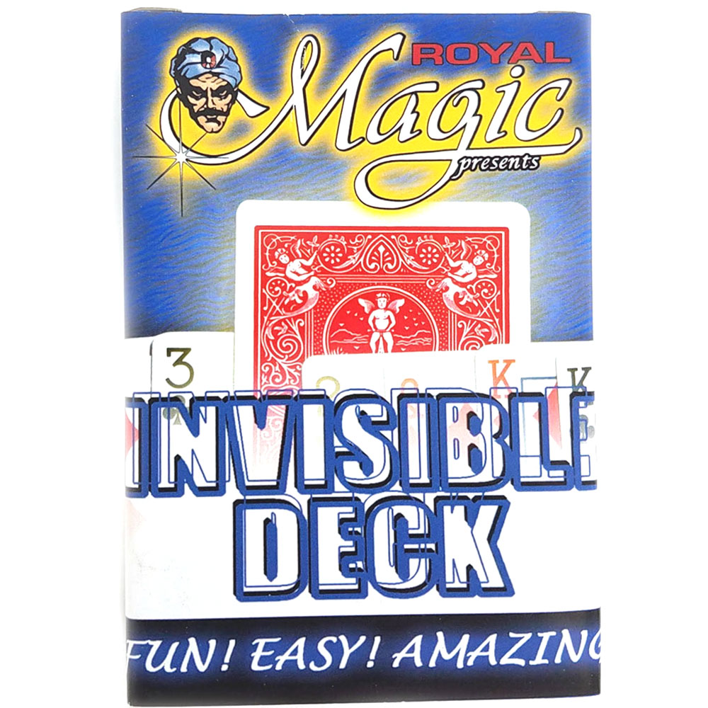 Invisible Deck - Royal - Red