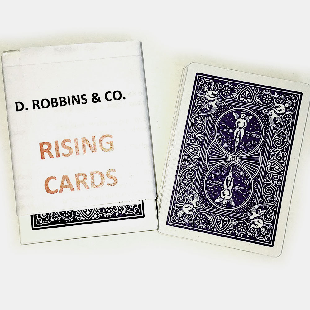 Rising Cards Bicycle (E-Z) - Blue