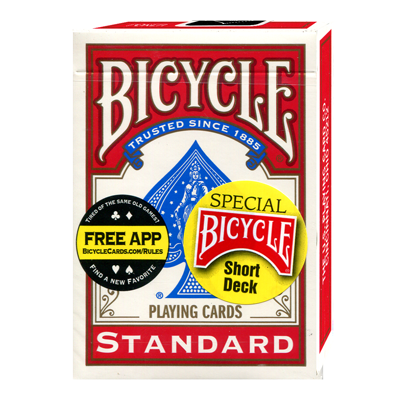 Bicycle Short Deck - Red