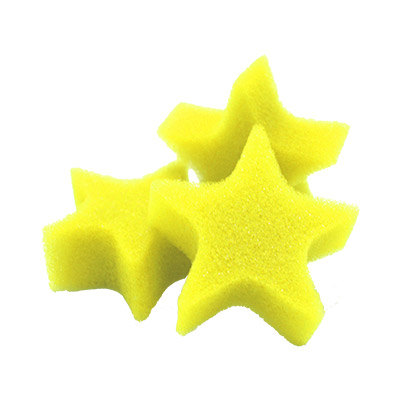 Sponge Stars SS Bag of 25 - Yellow