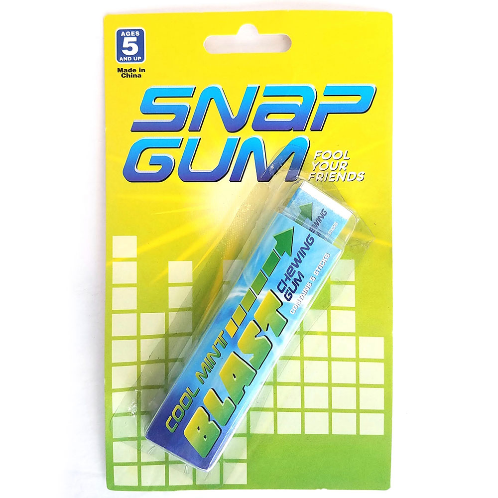 Snappy Gum - Pack of 12