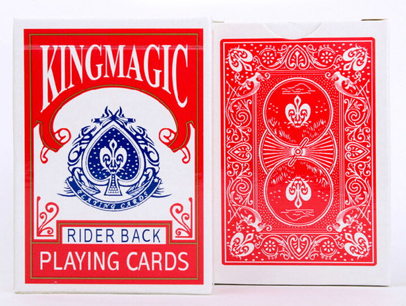Svengali Deck King Magic Poker - (TM)