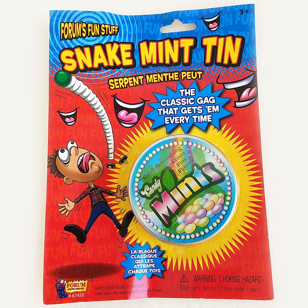 Spring Snake Candy Mint Tin