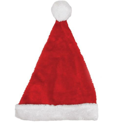 Santa Hat Plush - Adult