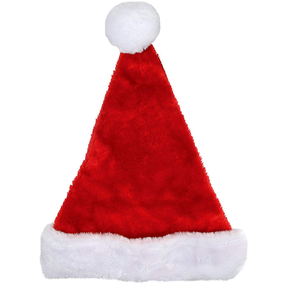 Santa Hat Plush - Child