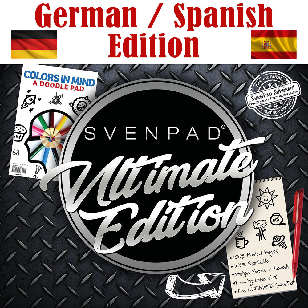Svenpad® Ultimate Edition - German, Spanish, Multilingual Edition