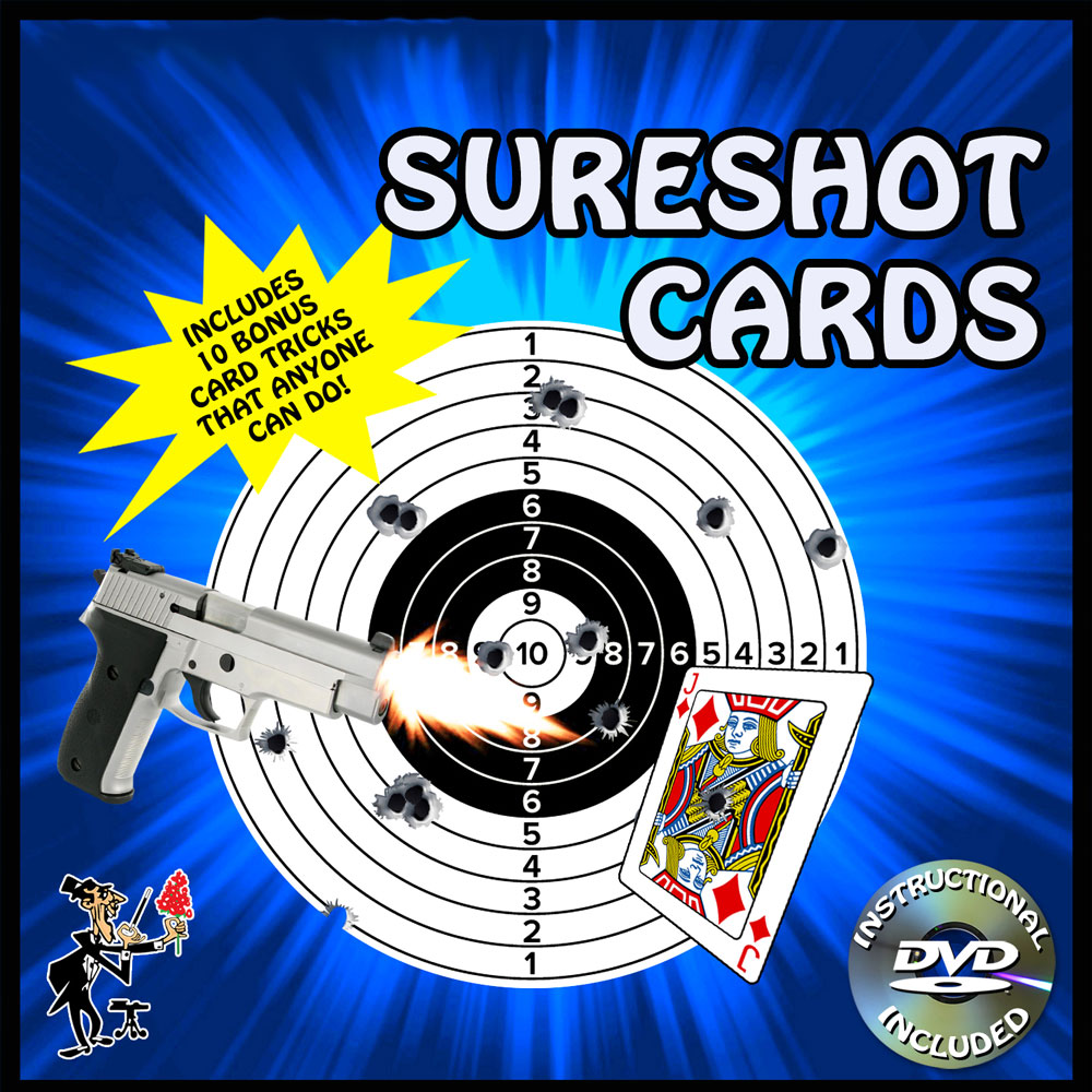 Sureshot Cards with DVD