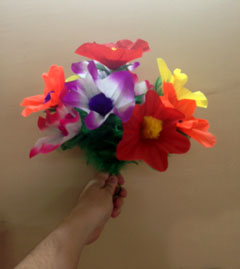 Sleeve Flower Bouquet - Cloth #10 (FT)