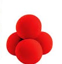 Sponge Balls - Supersoft - Red - 2""