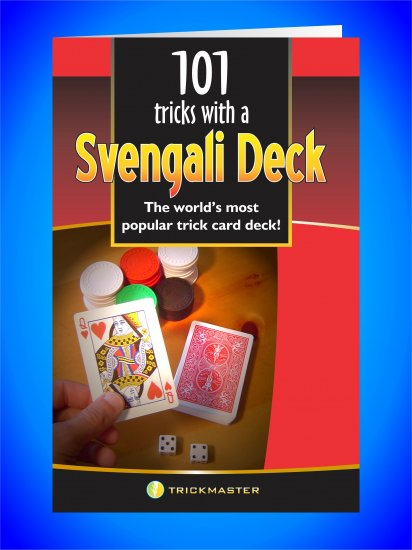 Svengali Deck 101 Tricks Booklet (TM)
