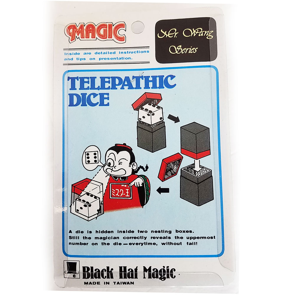 Telepathic Dice (Crazy Cube)