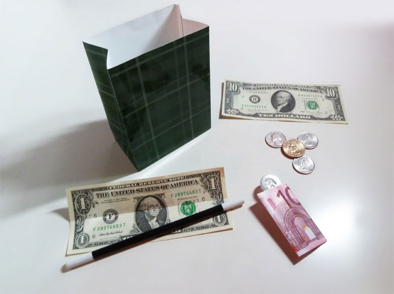 The Last Coin Magi Y Transforms Into Another Dollar Bill Tenyo Has Made The Popular Misers Dream Effect