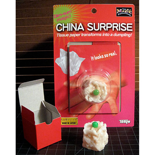 Tenyo China Surprise - Paper into Dumpling T-242