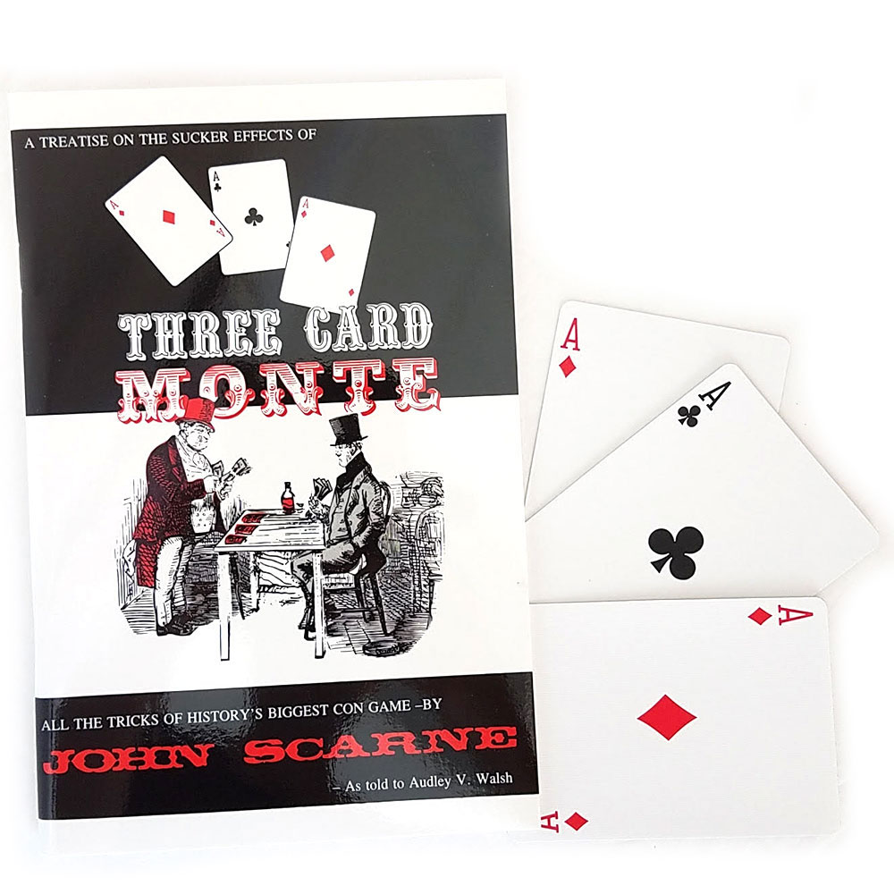 Three Card Monte Pro Kit