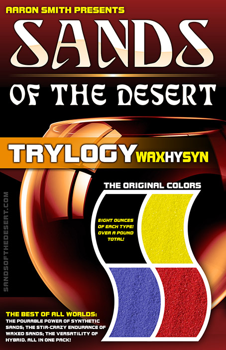 TRYlogy of Sands of the Desert (Synthetic, Waxed, and Hybrid)