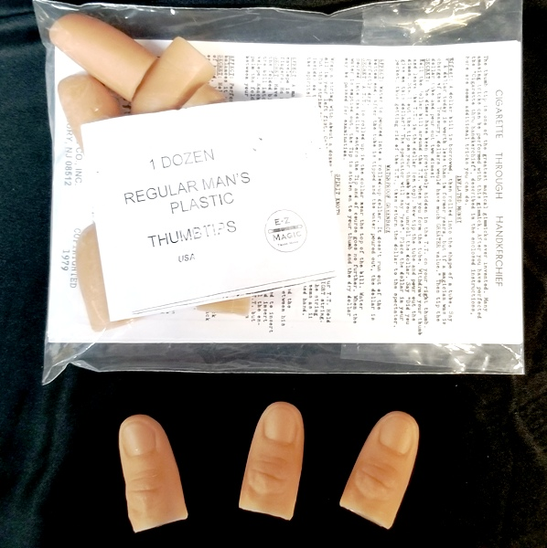 Thumb Tip - Plastic (EZ) - Regular Size - Pack of 12