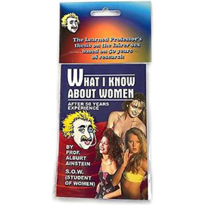 What I Know about Women - Pack of 12 (FT)