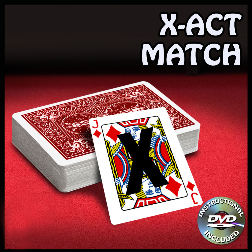 X-Act Match Regular with DVD