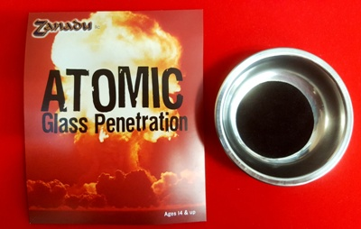 Atomic Glass Penetration
