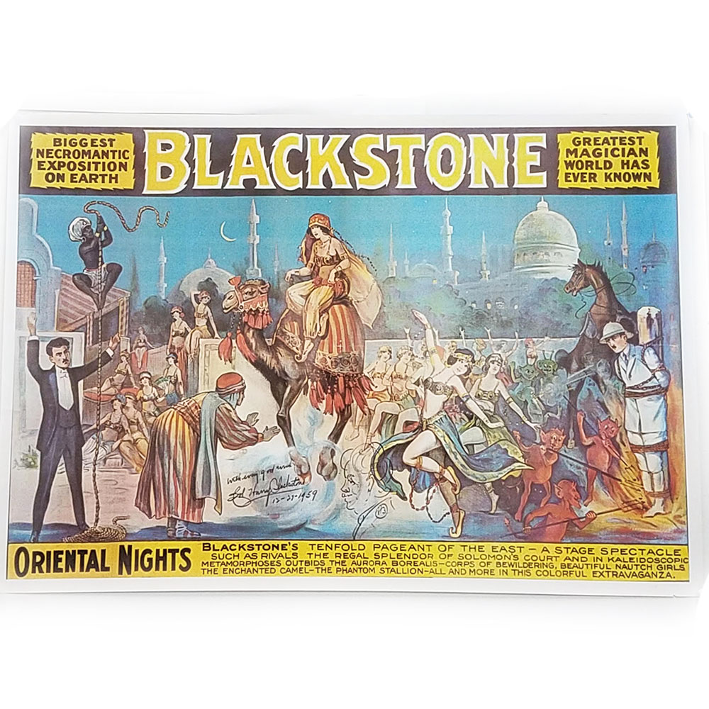 Blackstone Oriental Nights Poster