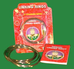 "Chinese Linking Rings - 5"" S.S. (FT)"