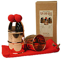 Classic Cups and Balls - Copper (Bazar de Magia)