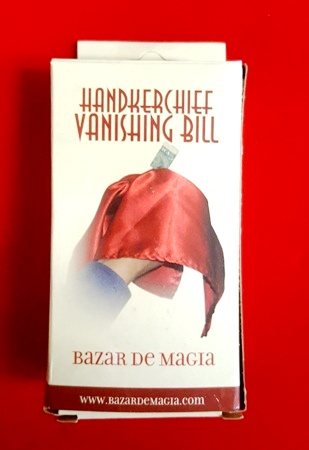 Classic Handkerchief Vanishing Bill - Colors