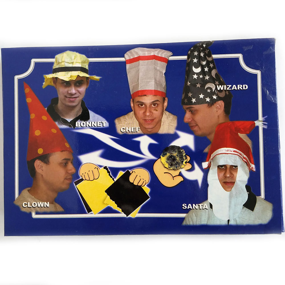 Hat Paper Tears - Set of 12 - Wizard (FT)