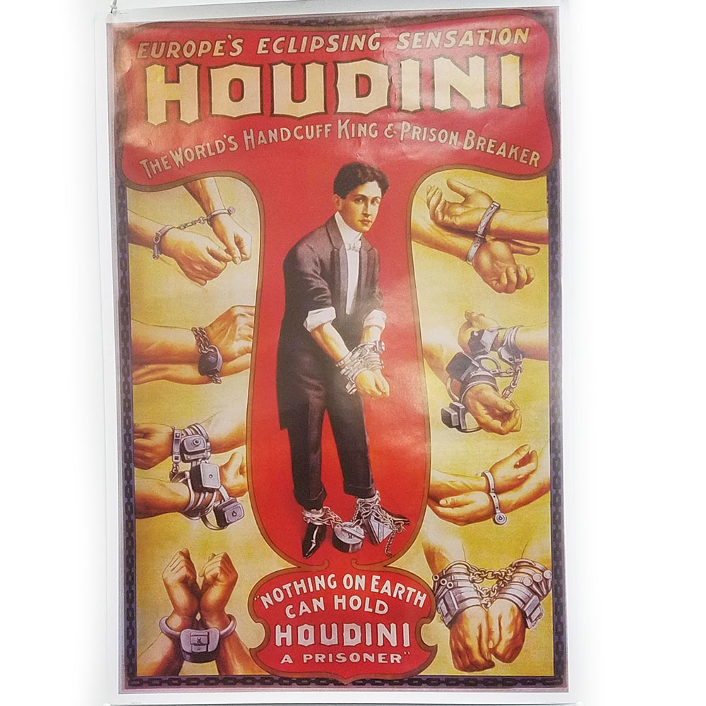 Houdini Handcuff King Poster (FT)