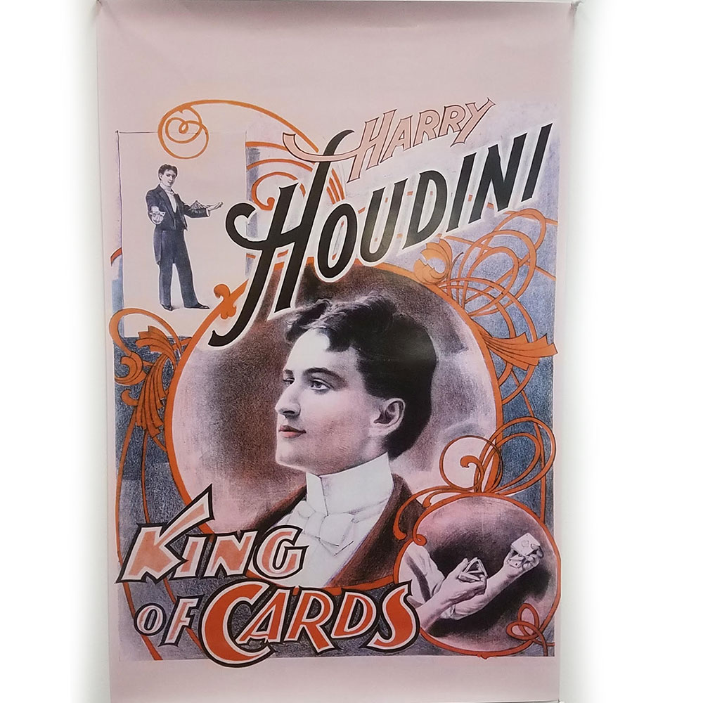 Houdini King of Cards Poster