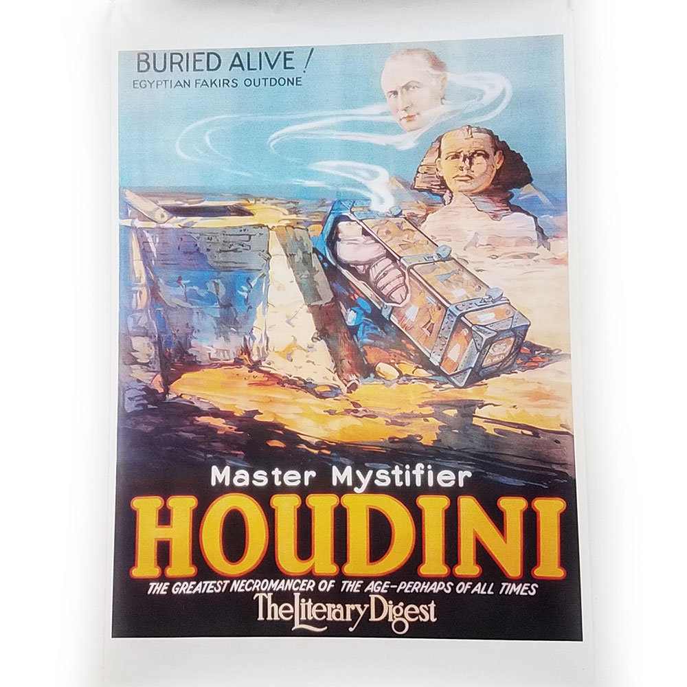 Houdini Buried Alive Poster (FT)