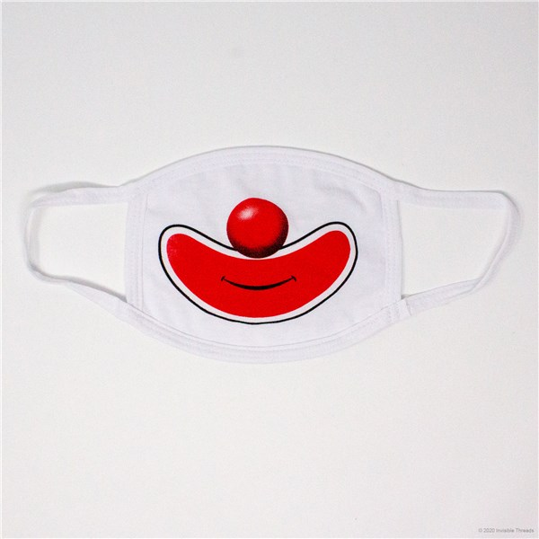 Face Mask - Clown Nose