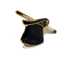 Magicians Lapel Pin - Wand/Hat (FT)